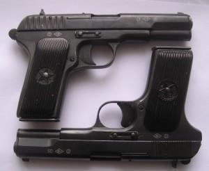 два пистолета ТТ